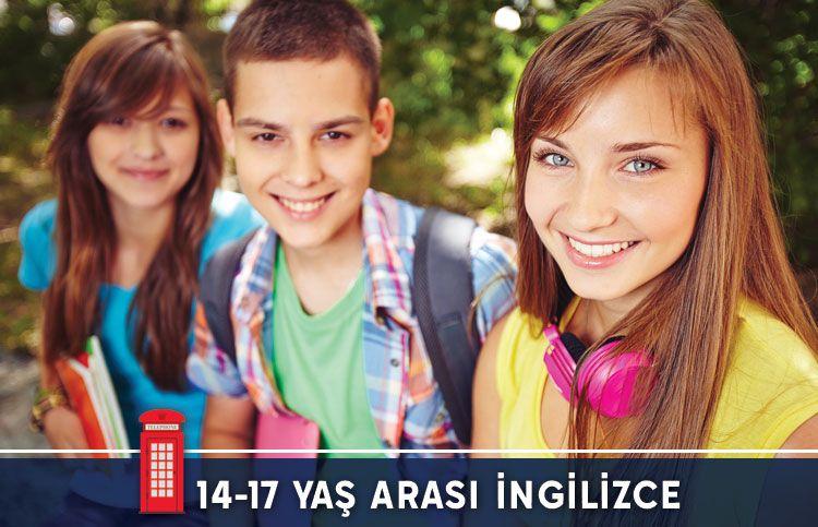 14-17 Yaş Arası İngilizce Kursu